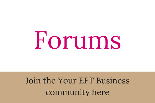 Forums - Join the Your EFT Business community here