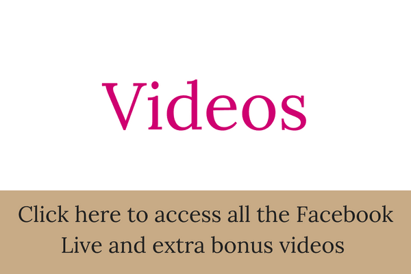 Click here to access all the Facebook Live and extra bonus videos