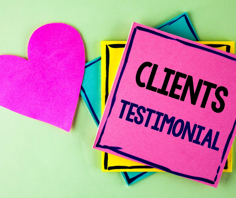 How to gain testimonials for your eft business